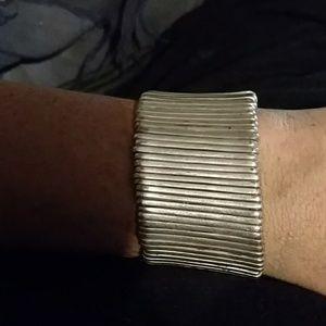 Vintage silver toned bracelet